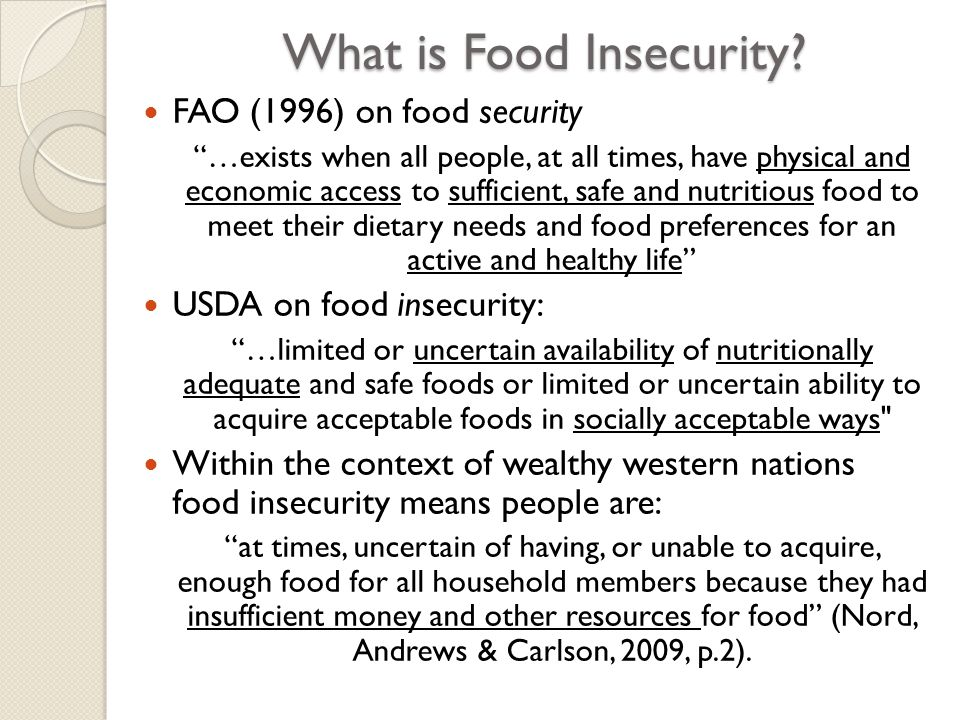 Talking with Their Mouths Half Full The qualitative aspect of the research sought to understand: ◦ The experience and implications of food insecurity ◦ People's strategies for addressing foodlessness and hunger ◦ The impacts of food security on people's lives Rationale: ◦ Limited micro level qualitative accounts in NZ ◦ Social Services report levels of service provision (e.g.