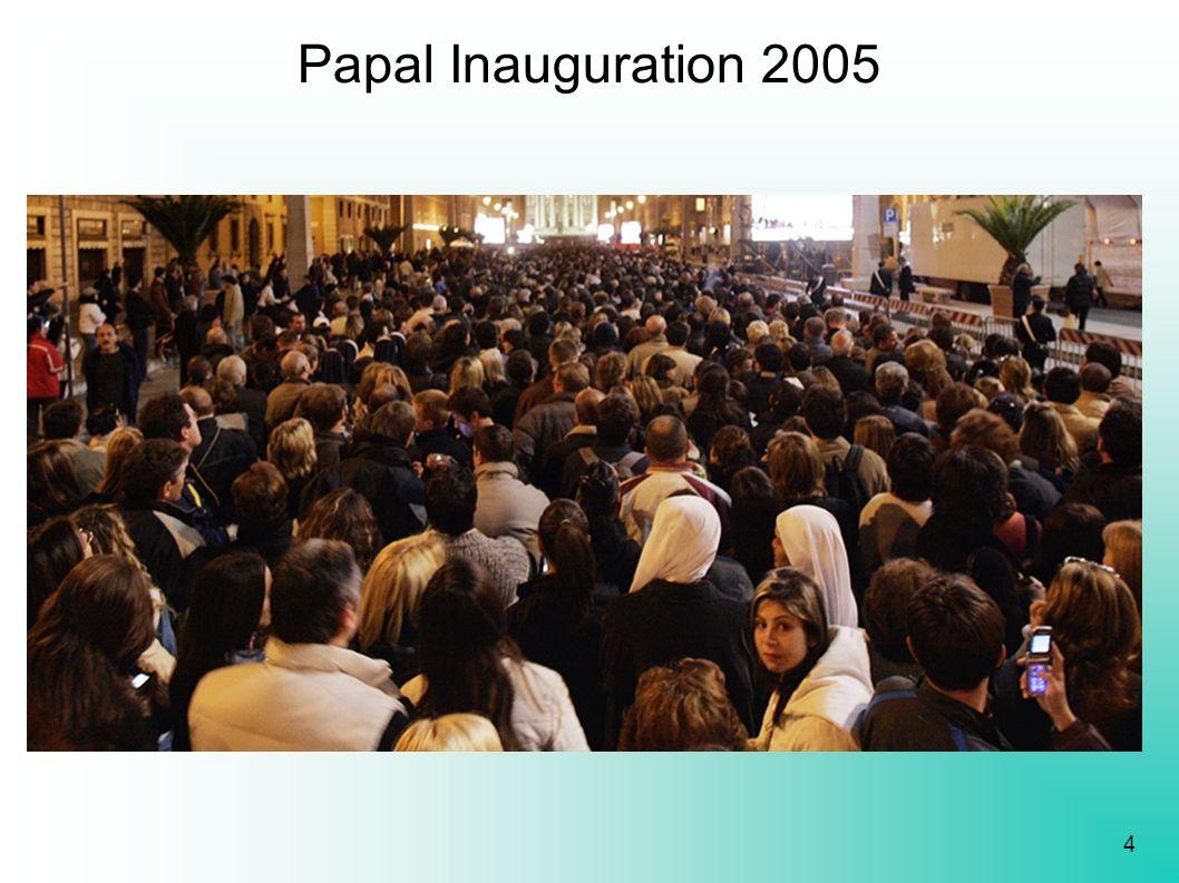 4 Papal Inauguration 2005