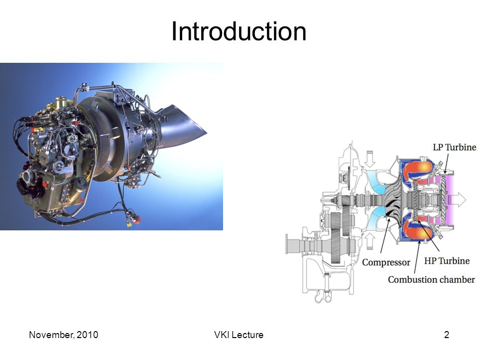 November, 2010VKI Lecture83 Multiperforated liners Multiperforated plate (????) Solid plate (Neumann) Dilution hole (resolved) Example of a TURBOMECA burner