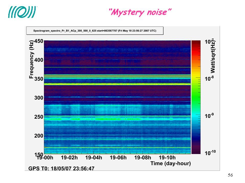 56 Mystery noise