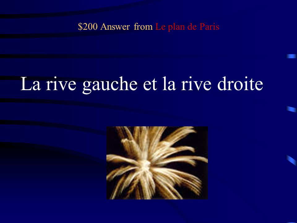 $200 Question from Le plan de Paris Name the two banks