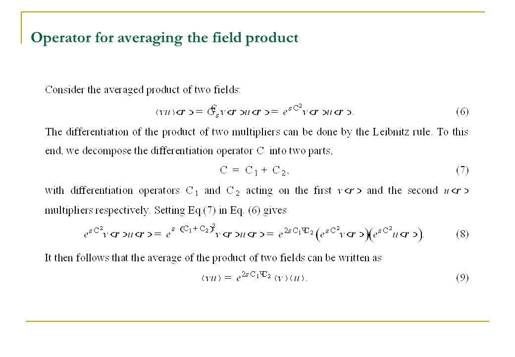 Simplest formula for averaging