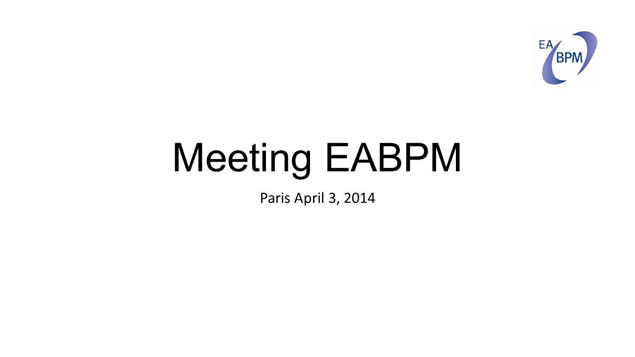 Meeting EABPM Paris April 3, 2014