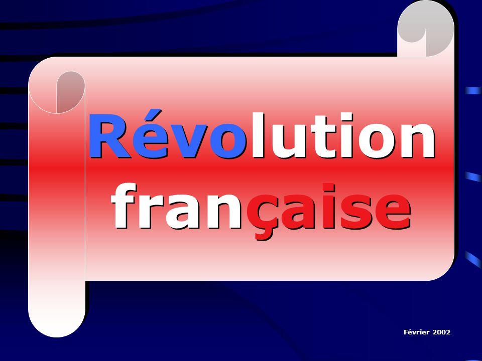 Révolution française Février 2002