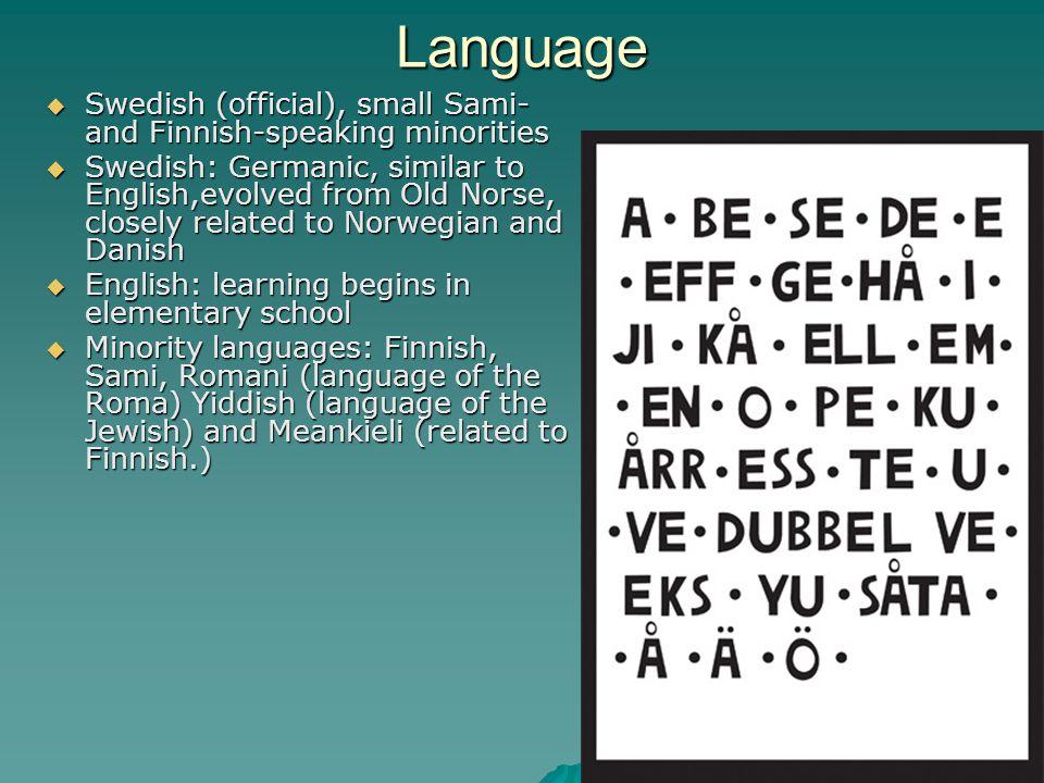 Speak Swedish.