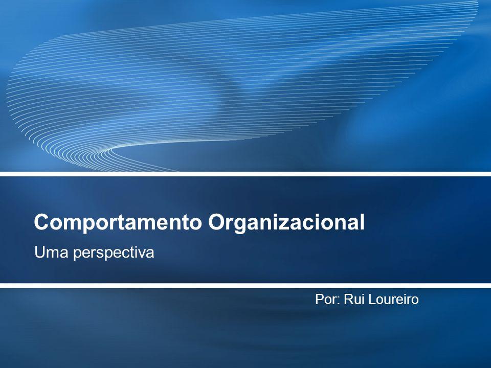 Page  2 O que é o Comportamento Organizacional  O Comportamento Organizacional é o estudo dos indivíduos (individualmente ou em grupo) e o do seu comportamento dentro do contexto de uma organização e num determinado ambiente de trabalho.