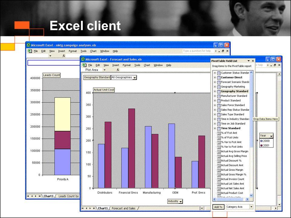 Excel client