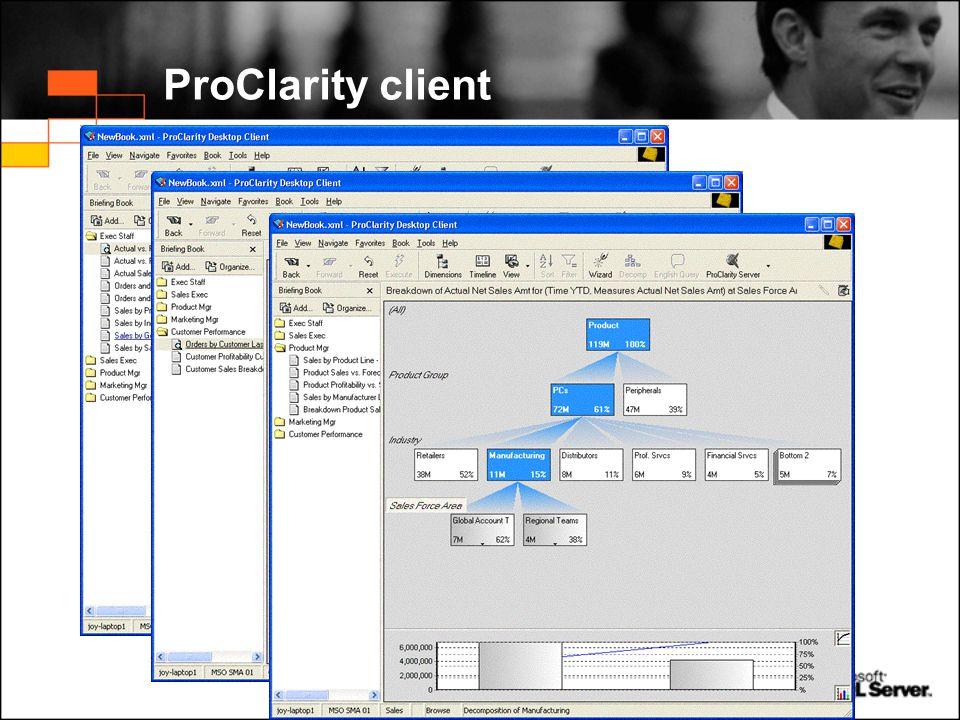 ProClarity client