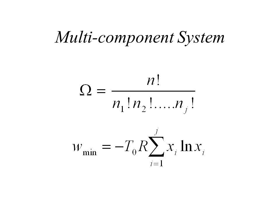 Multi-component System