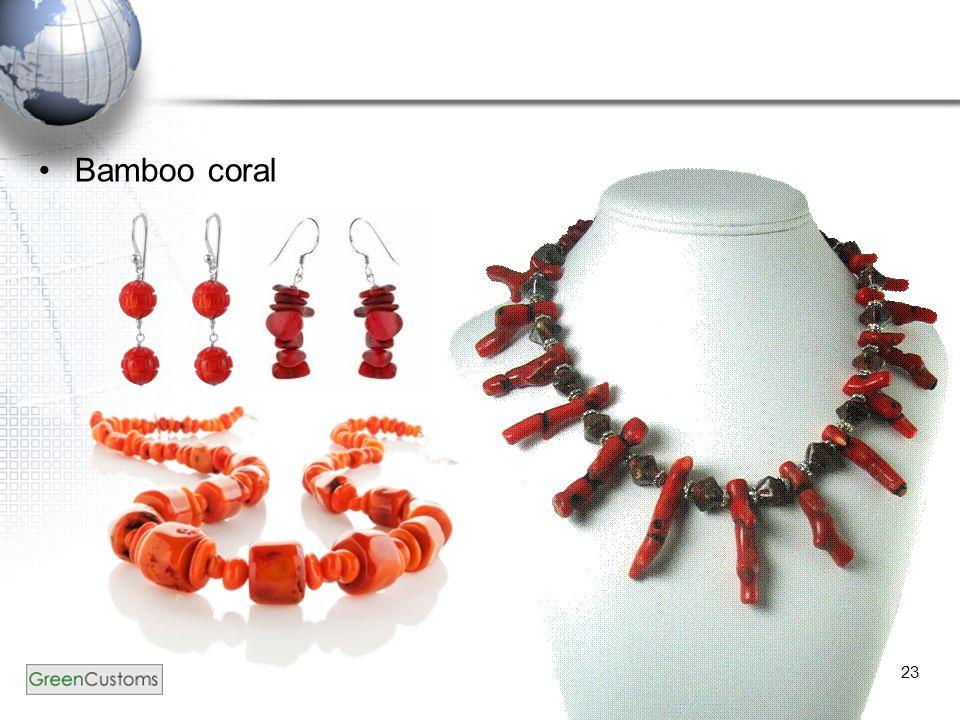 23 Bamboo coral