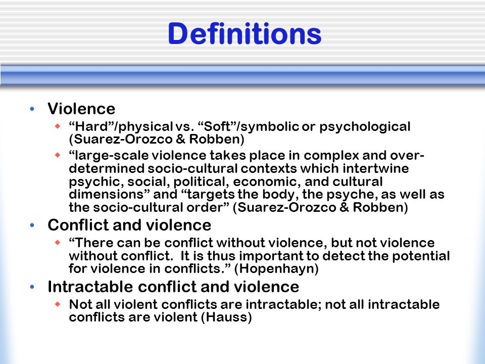 Why an Ethnic Conflict?  Language  Culture  Religion  Territory