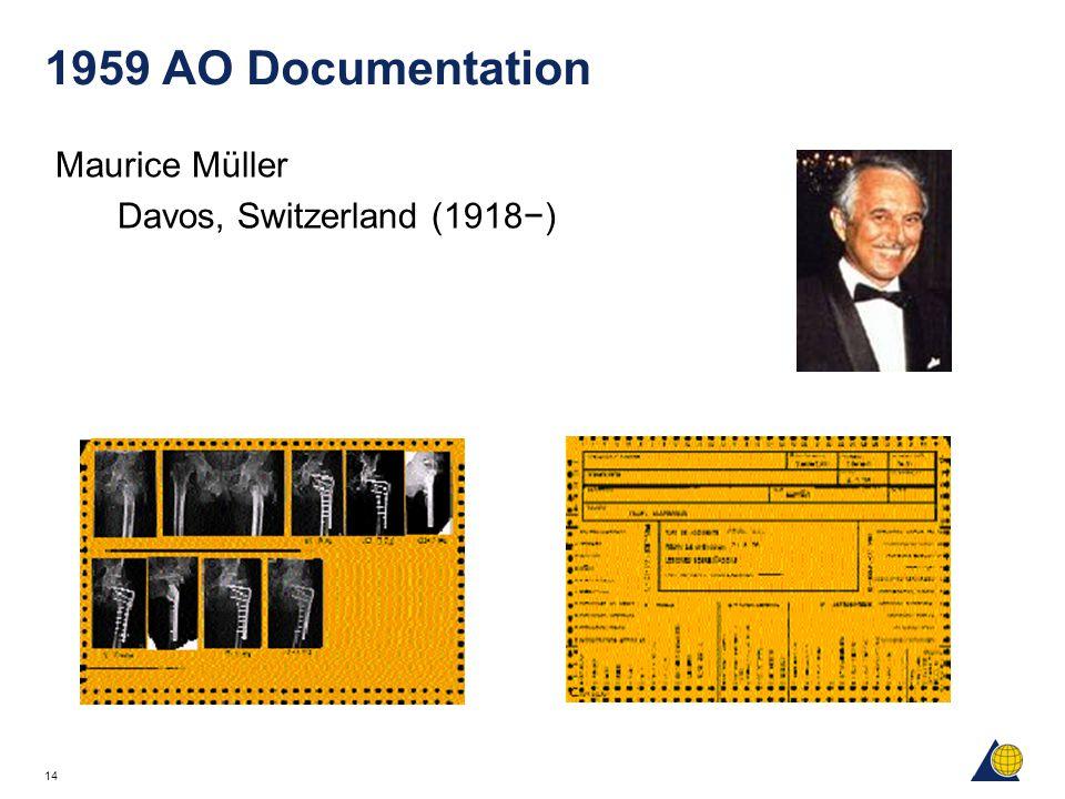 14 1959 AO Documentation Maurice Müller Davos, Switzerland (1918−)