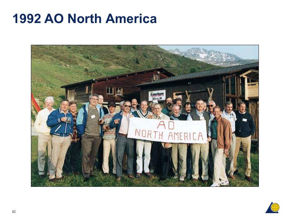 52 1992 AO North America