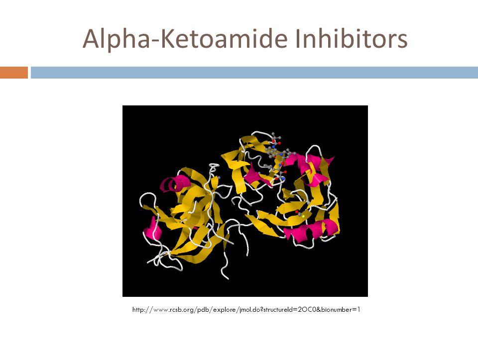 Alpha-Ketoamide Inhibitors http://www.rcsb.org/pdb/explore/jmol.do structureId=2OC0&bionumber=1