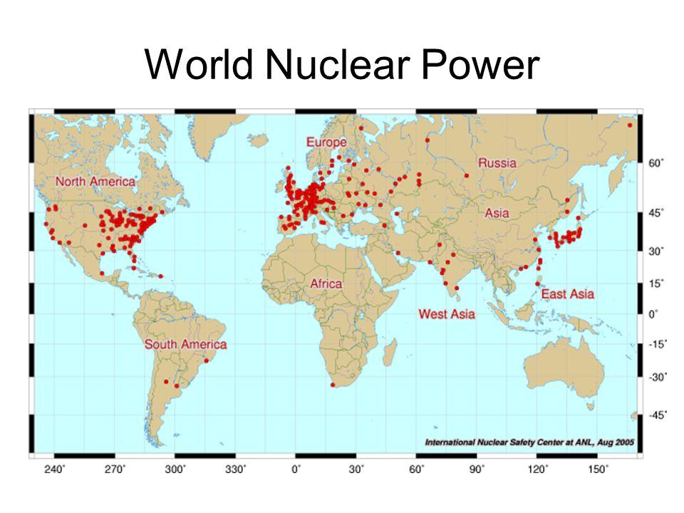 World Nuclear Power