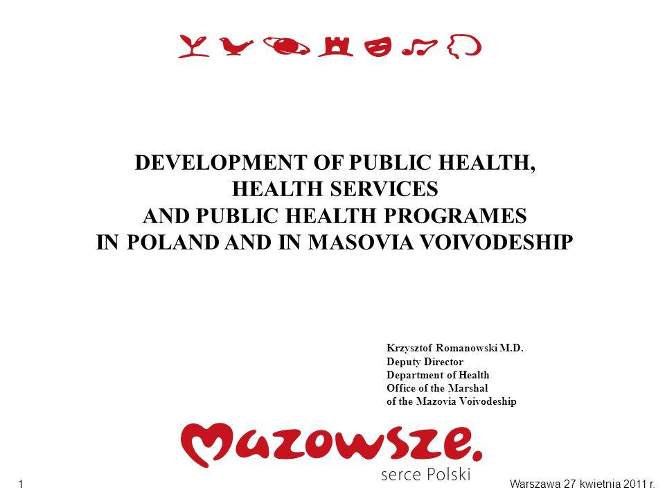 Warszawa 27 kwietnia 2011 r.