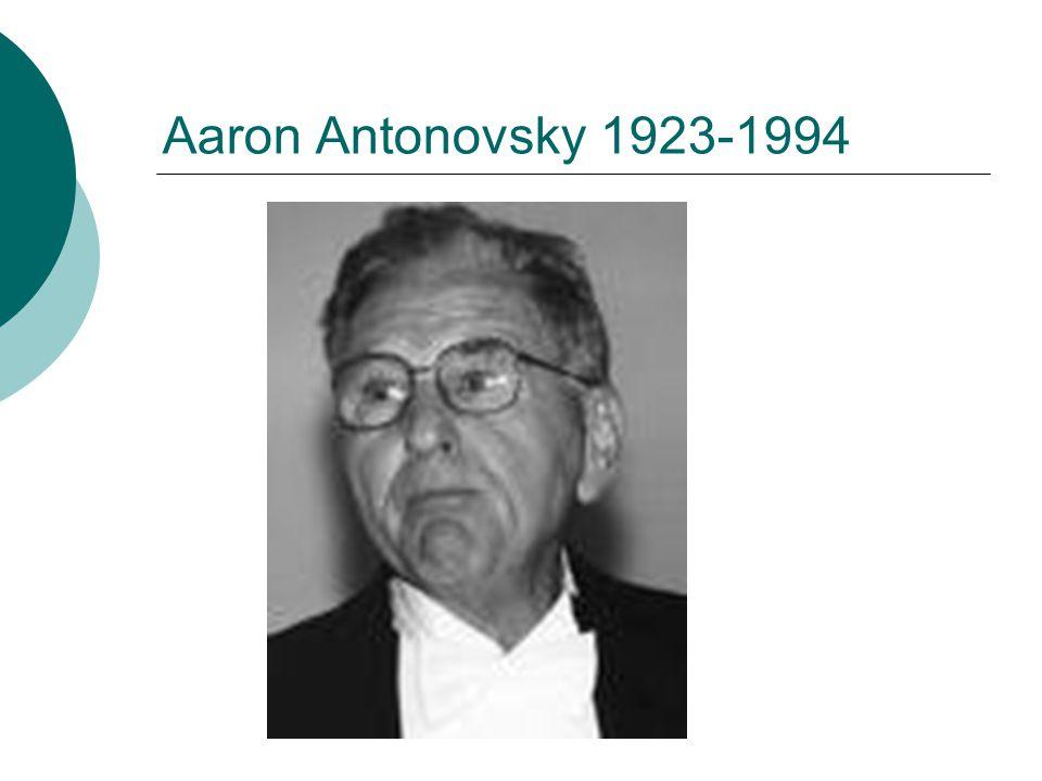 Aaron Antonovsky 1923-1994