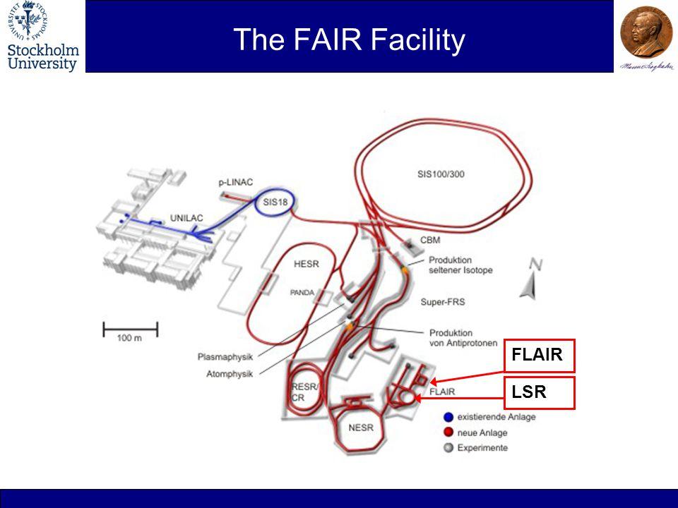 The FAIR Facility FLAIR LSR