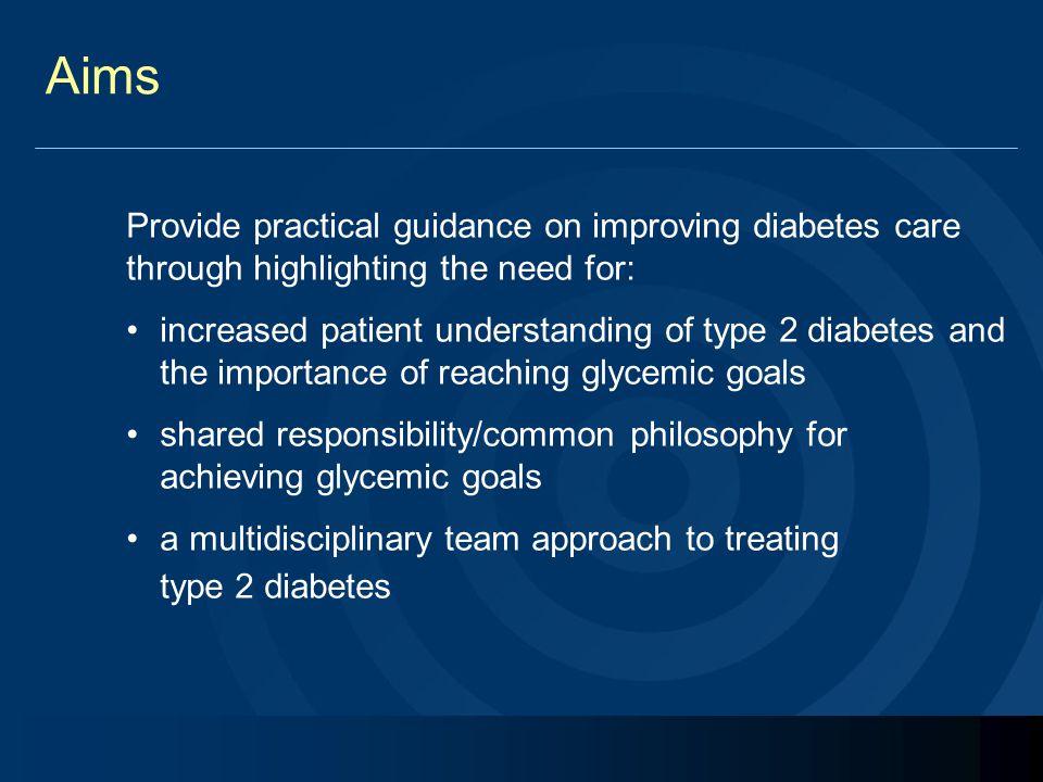 Majority of type 2 diabetes patients are not at HbA 1c goal Subjects (%) 0 20 40 60 80 100  6.5% > 6.5% HbA 1c Subjects (%) 0 20 40 60 80 100 < 7% ≥ 7% HbA 1c US 1 EU 2 31% 69% 36% 64% 1 Koro CE, et al.
