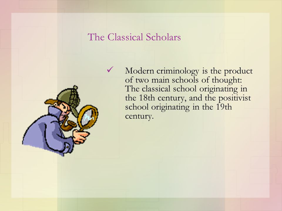 Neoclassicism: Rational Choice Theory Rational choice theory assumes a criminally motivated offender and focuses on the process of the choice to offend.