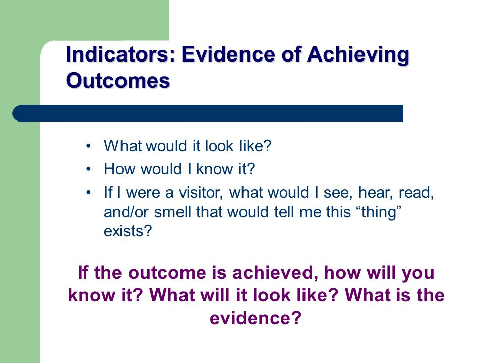 Evaluation Questions Clarify your evaluation questions Make them specific What do you need to know vs.