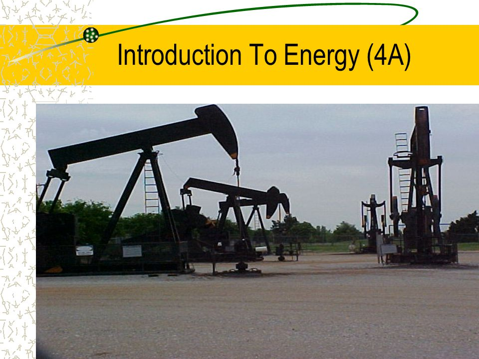 OIL – Our Untapped Energy Wealth (2) In fact, we use more oil in the United States than any other form of energy.