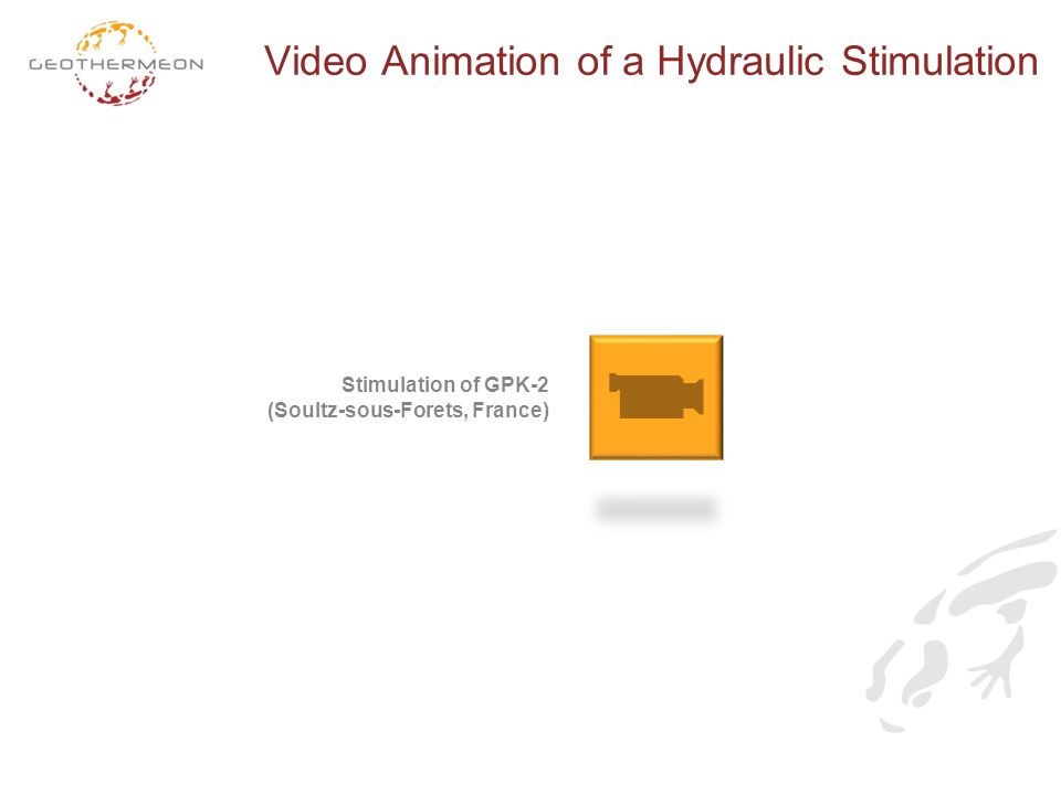Video Animation of a Hydraulic Stimulation Stimulation of GPK-2 (Soultz-sous-Forets, France)