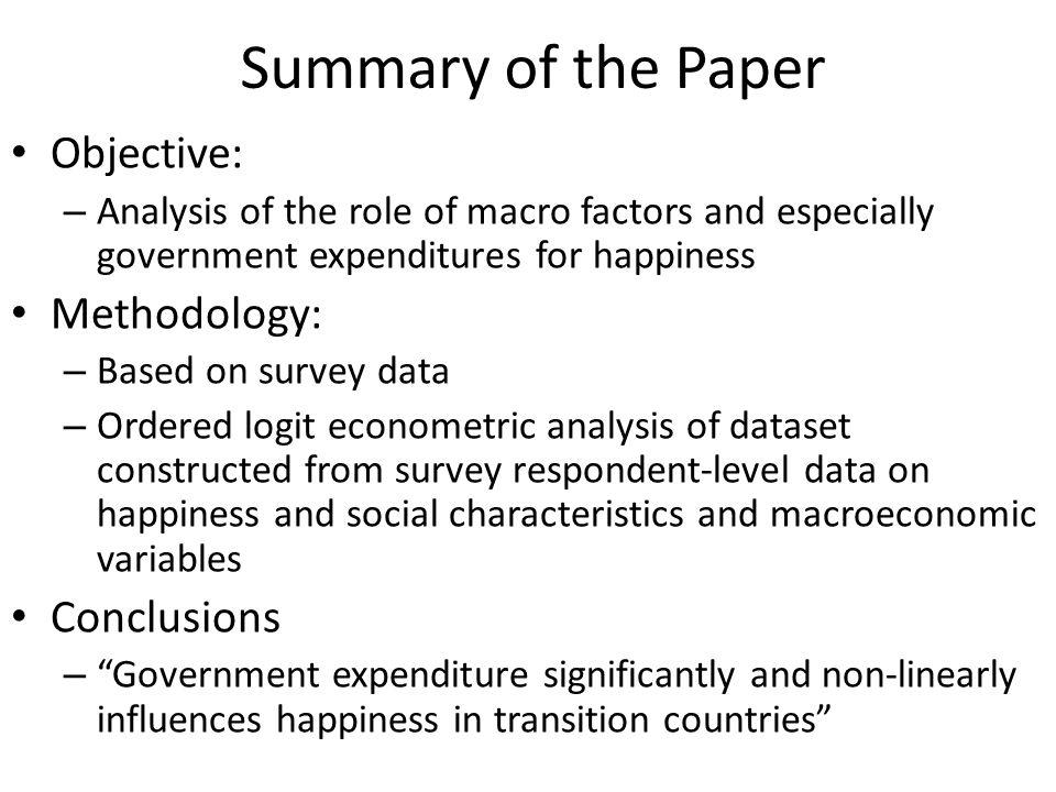 Life Satisfaction and GDP p. Capita Source: Deaton (2008)