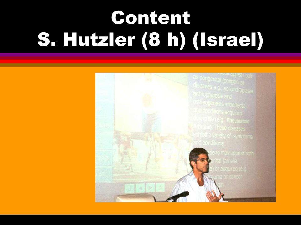 Content S. Hutzler (8 h) (Israel)