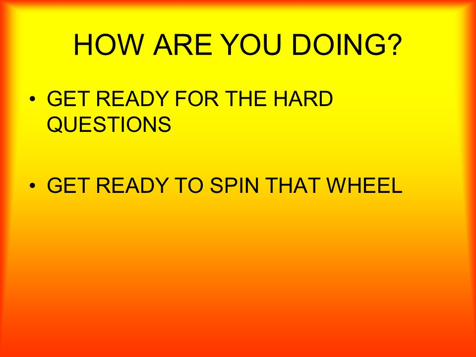 12 3 4 56 7 8 SPIN DID YOU GET THE 1 POINT