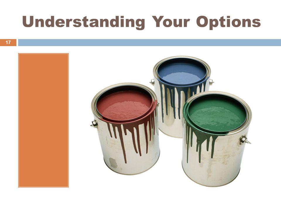 Understanding Your Options 17