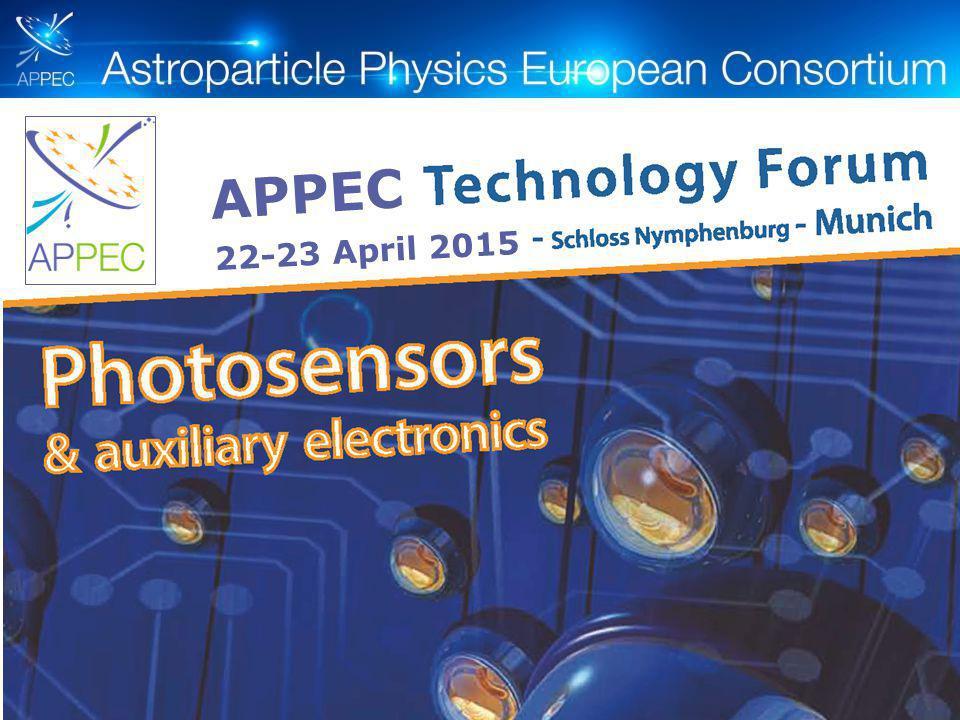 APPEC 22-23 April 2015