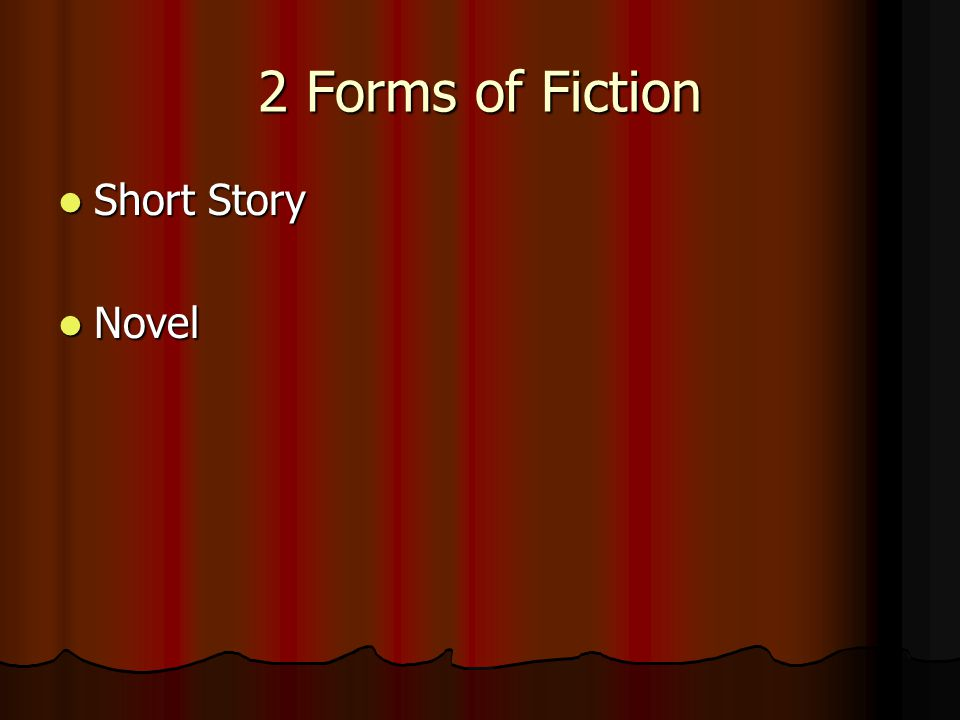 Fiction Writing that comes from an author's imagination. Writing that comes from an author's imagination. Realistic Fiction Realistic Fiction Historic