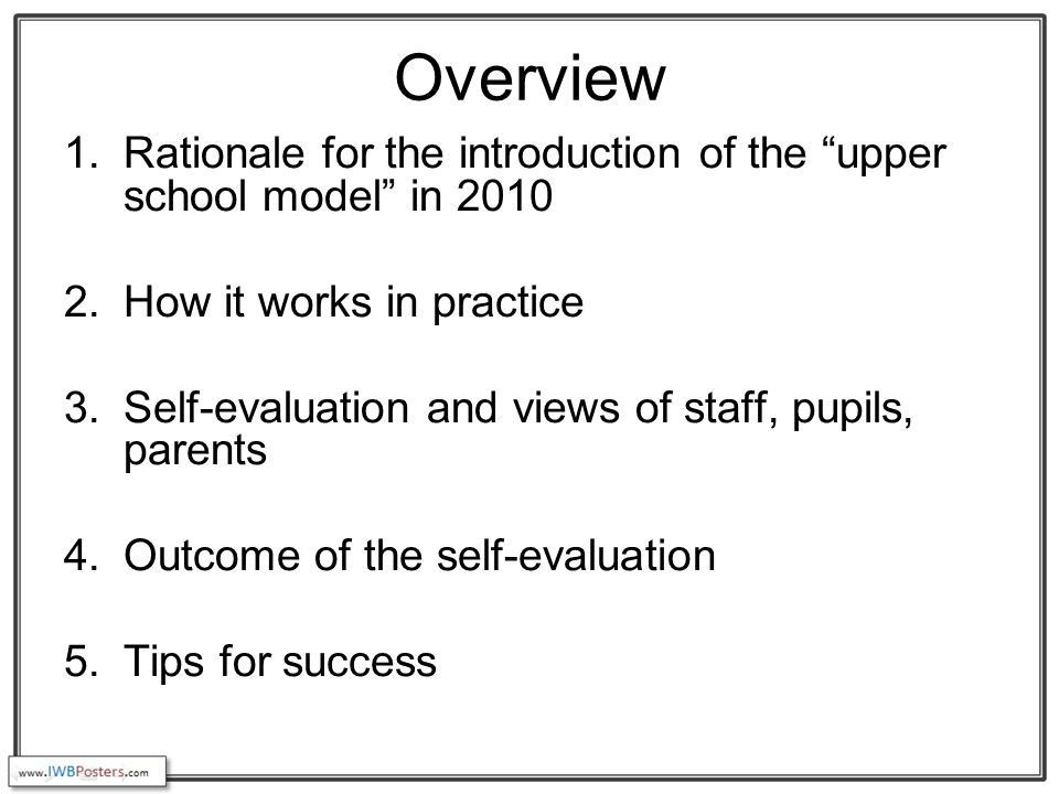 Views of teachers - cons Sometimes teachers can miss teaching different aspects of for example a topic. Teachers need to ensure that they don't become de- skilled in teaching all curriculum areas. It can be more difficult to organise the giving and returning of homework. Children with support needs may not like the changes. It can take a while for P5 pupils to get used to the routine.