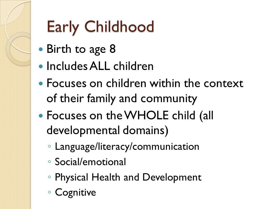 Birth to Three programs  Parents As Teachers  Early Head Start  Part C (tiny-k)  Healthy Families  Healthy Start
