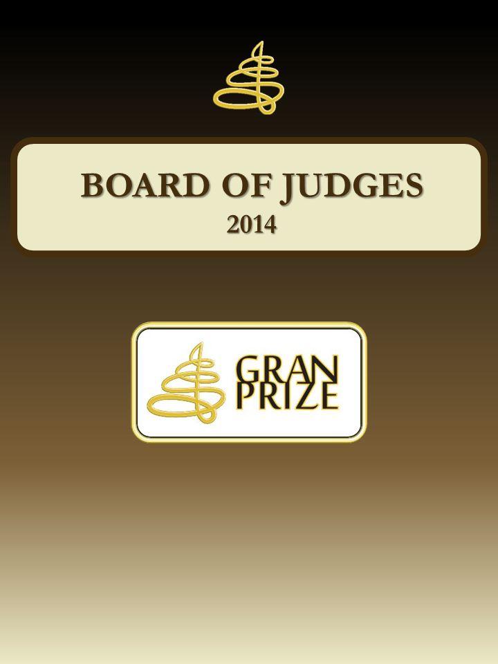 MÁRTON JUHÁSZ WINNER OF GRAN PRIZE AWARD 2014