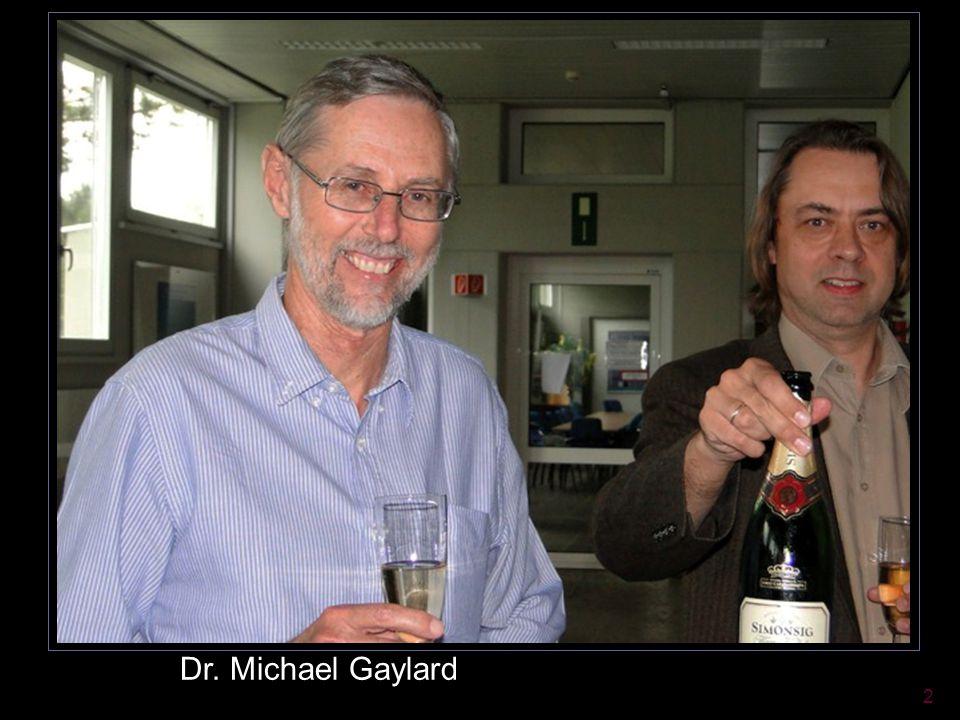 2 Dr. Michael Gaylard