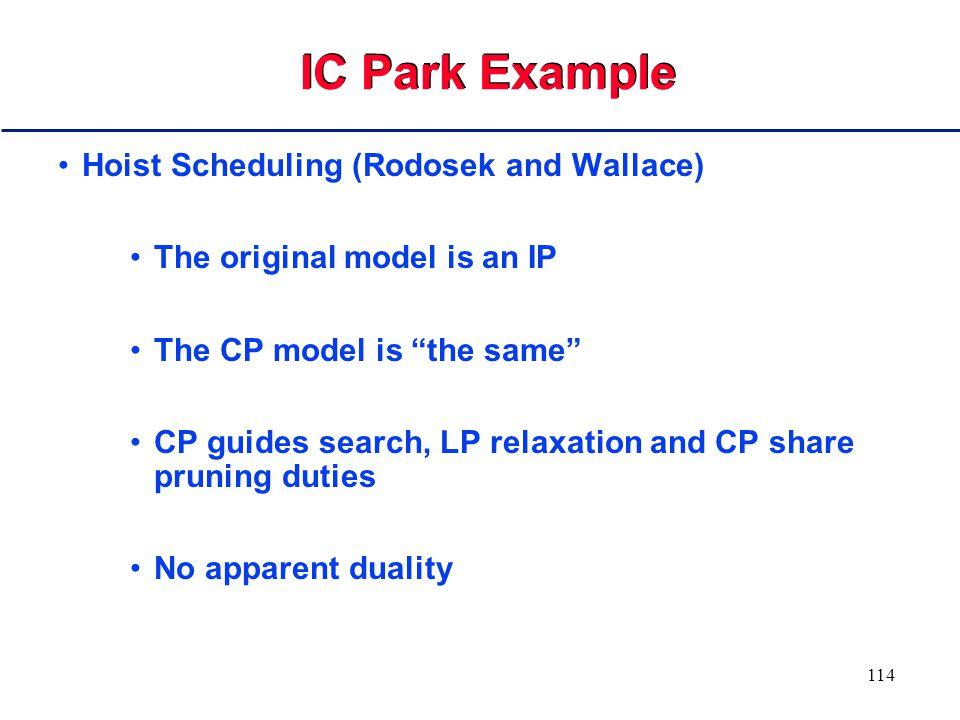 113 Parallel Machines: Cooperative Algorithm Demo