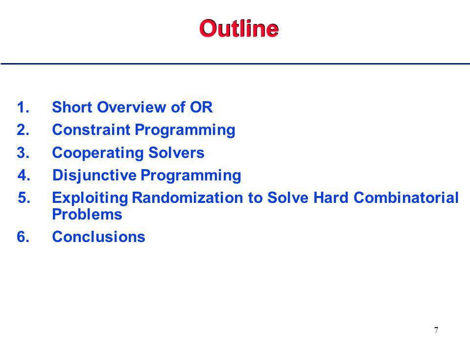 67 Solving the Integer Problem //  Pct w  b h w for(h=0;h<168;h++) { // for each hour of 168 in week for(j=0;j<168;j++) coeffs[j] = 0; for(k=0;k<5;k++) // for each of 5 days for(j=k*24;j<k*24+8;j++) // for each of 8 if (j!=(k*24+4))// hours coeffs[(h+168-j)%168] = 1; simplex.add(IlcScalProd(coeffs,Pct) >= b[h]); }