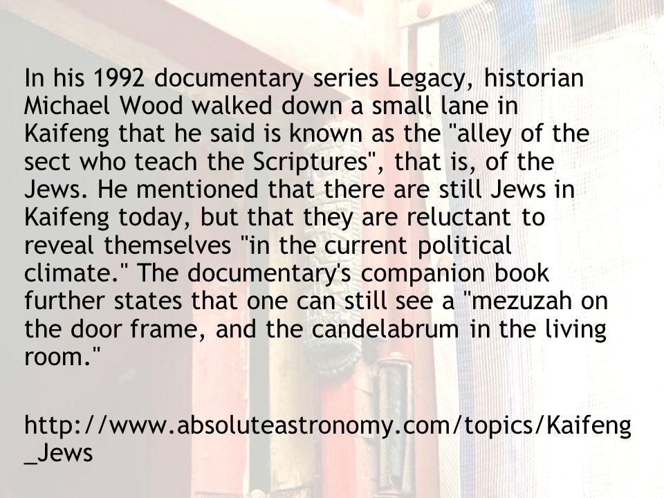 Kaifeng Jewish descendant