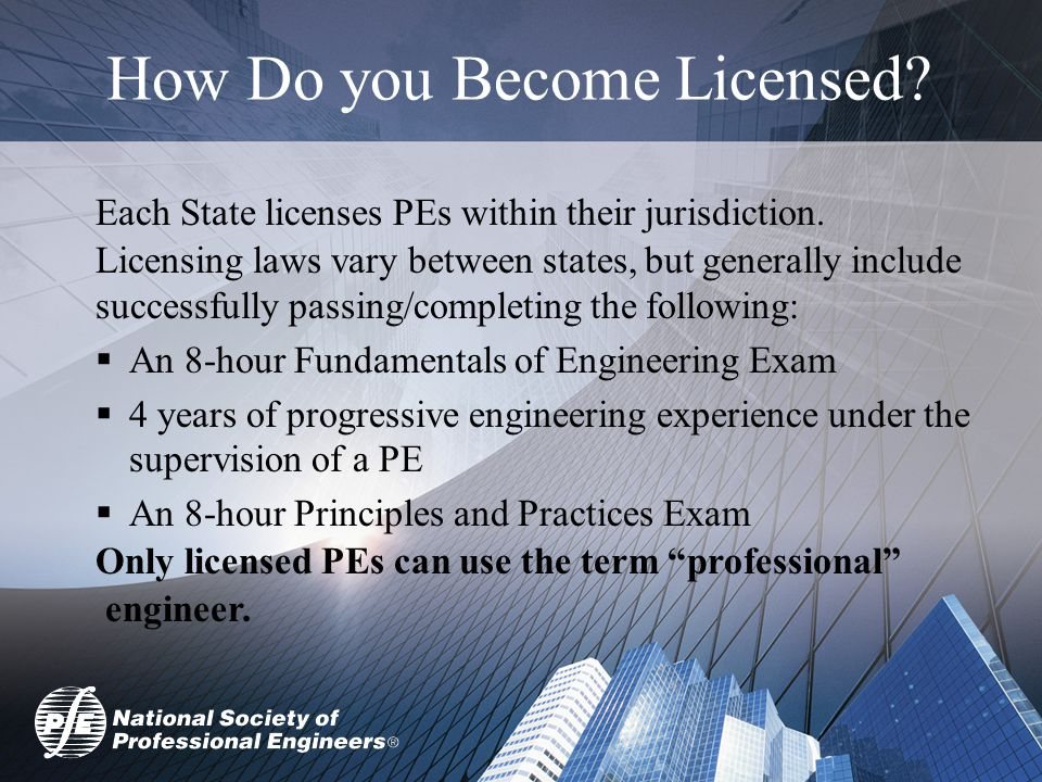 Enjoy the Journey  You may not see licensure as relevant now, but you may change your mind down the road.