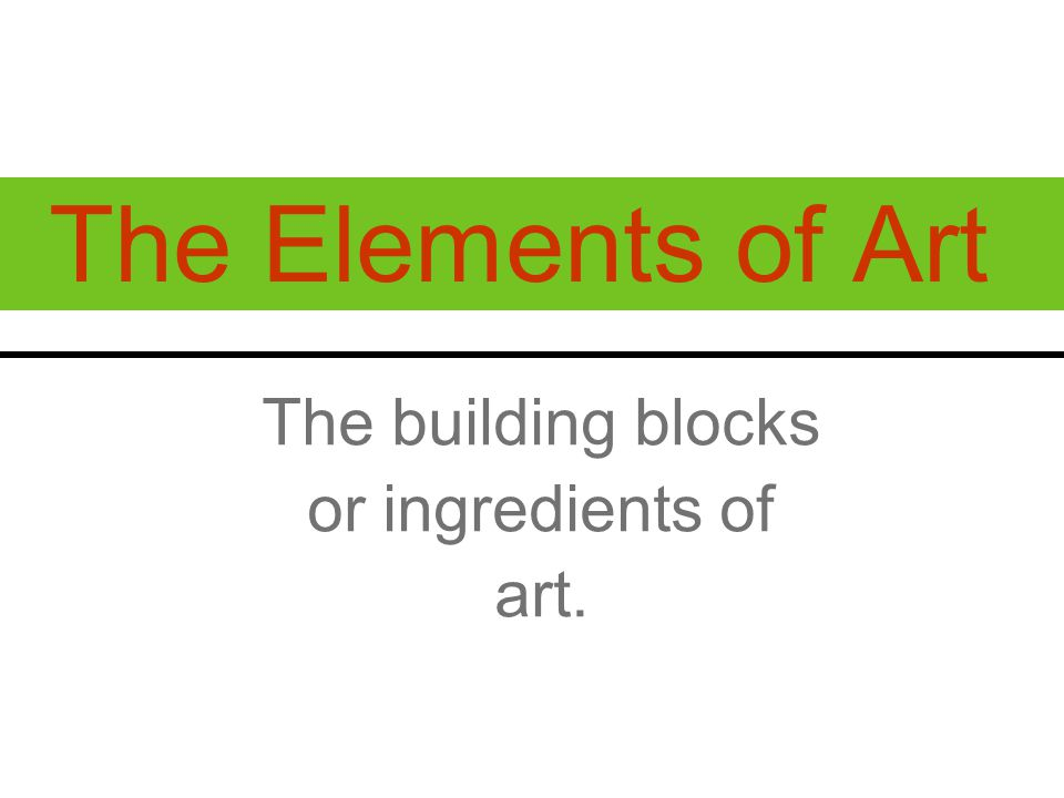 B AL A NC E The way the elements are arranged to create a feeling of stability or stability in a work.