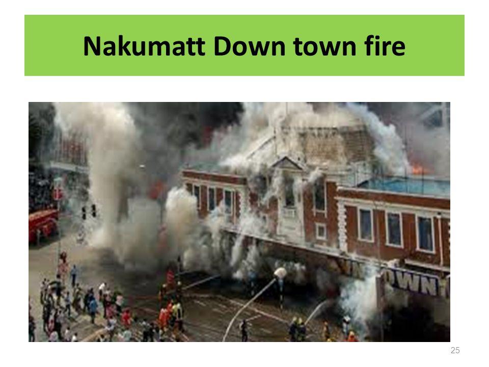 Nakumatt Down town fire 25