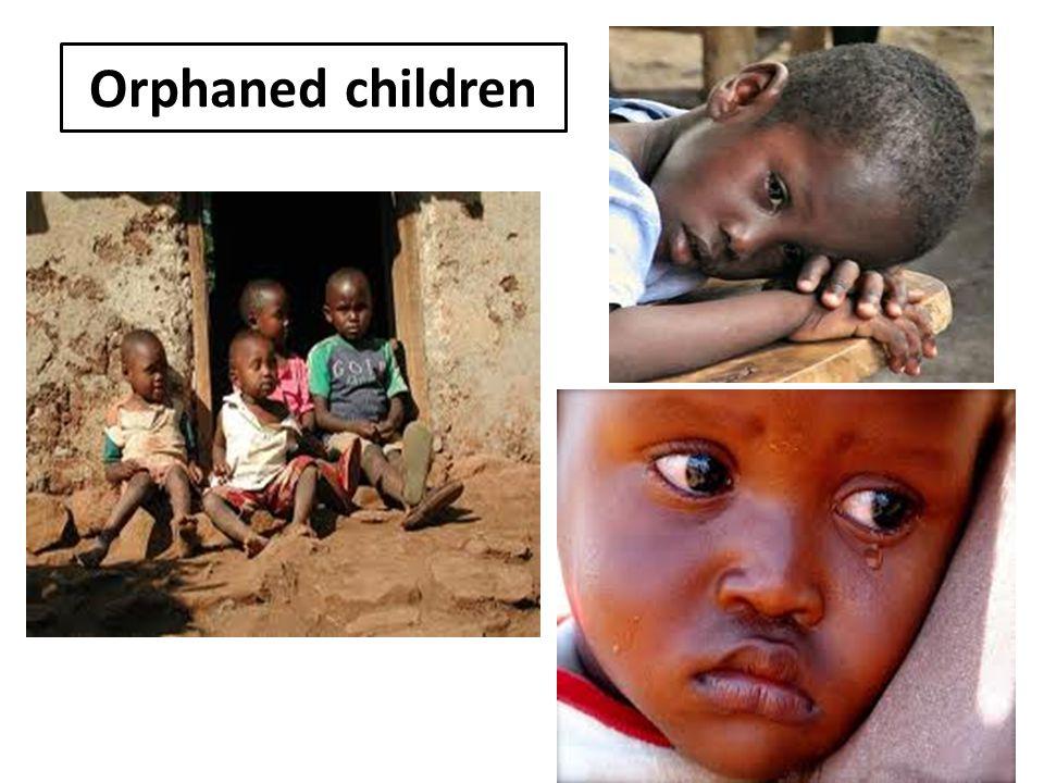 Orphaned children 37