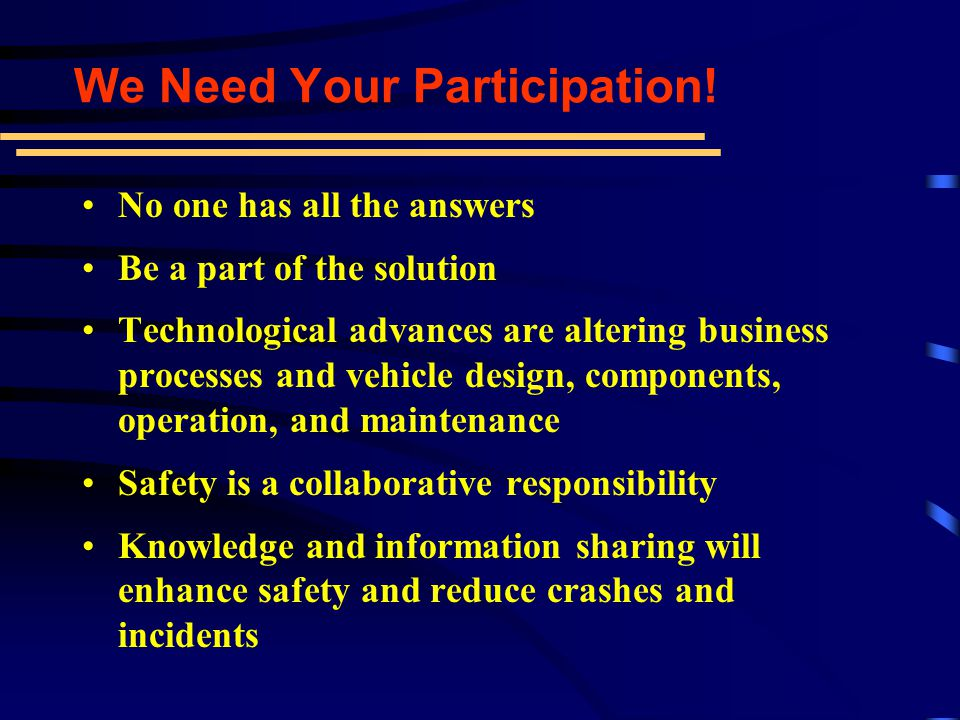 Information Have a voice Knowledge Network Education Representation Forum Importance of Being Active in CVSA Enhance Safety Relationships