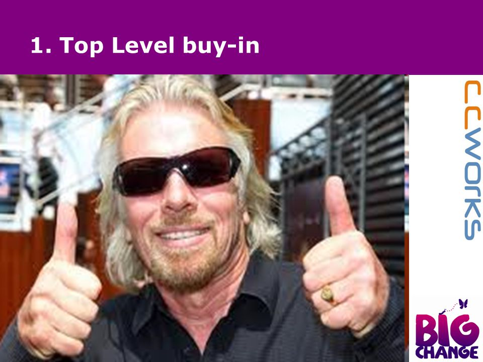 1. Top Level buy-in