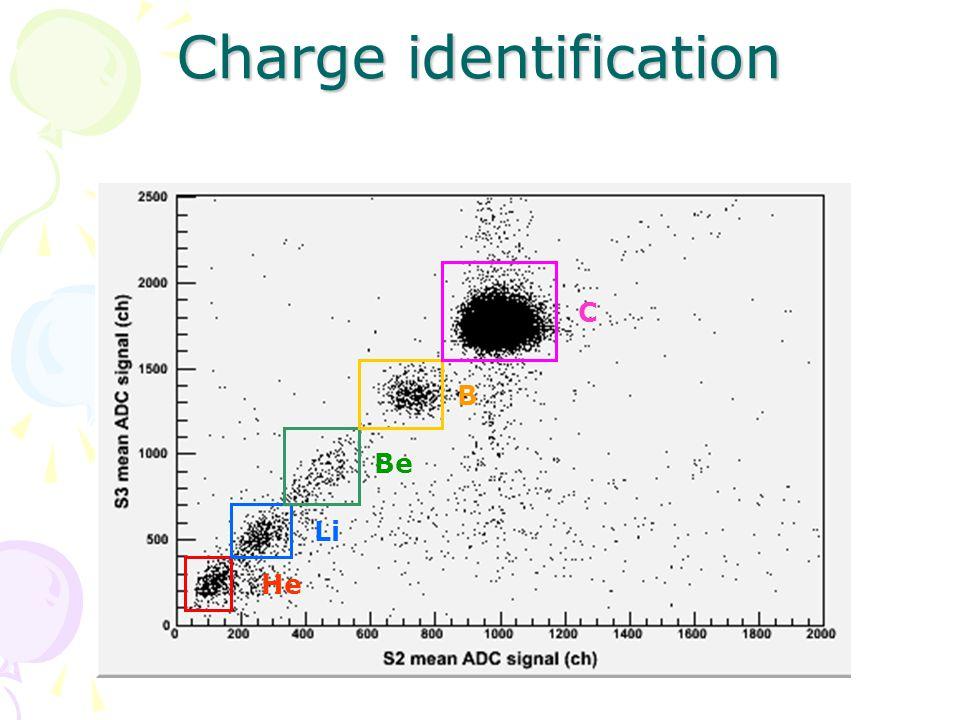 Charge identification He Li BeB C