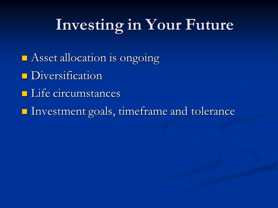Investing for Wealth Planning for wealth Planning for wealth Make the most of a 401(K) Make the most of a 401(K)