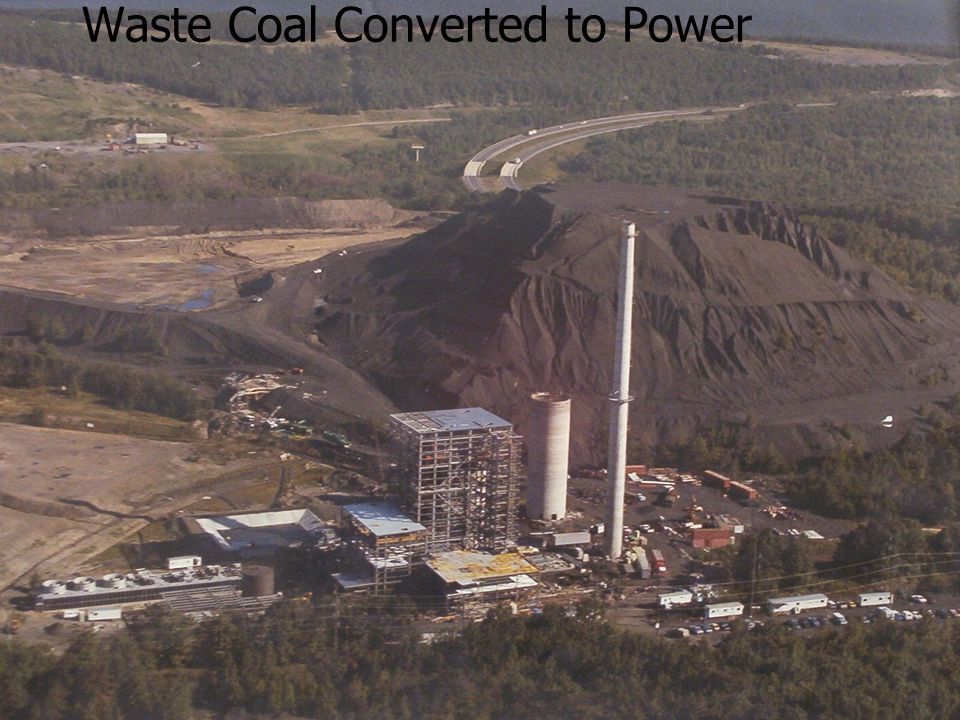 Waste Coal Converted to Power