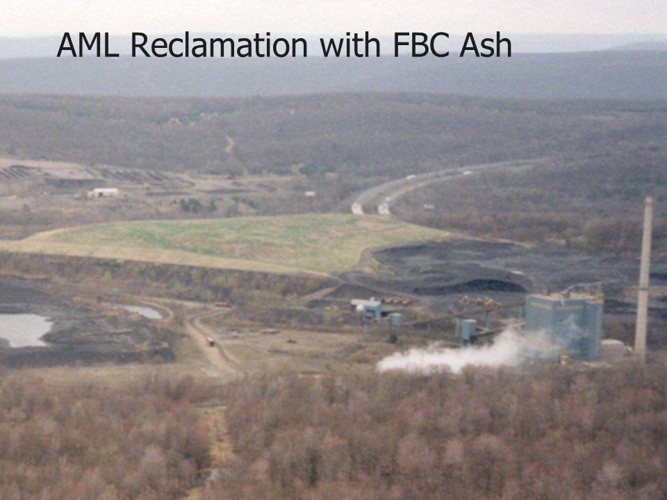 AML Reclamation with FBC Ash
